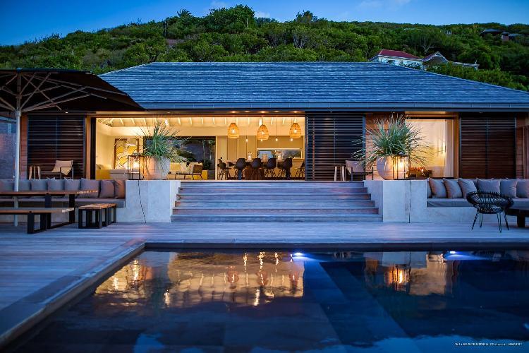 enchanting Saint Barth Villa Blackstone luxury holiday home, vacation rental