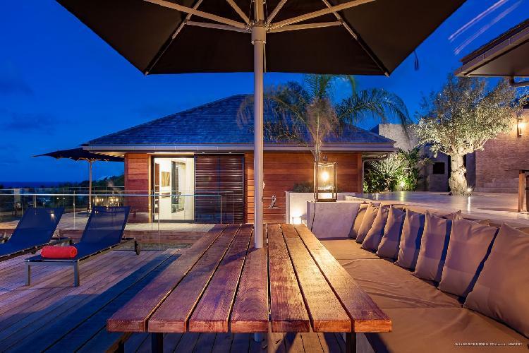splendid Saint Barth Villa Blackstone luxury holiday home, vacation rental