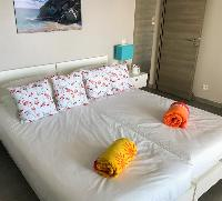clean bed sheets in Saint Barth Villa Ouanalao luxury holiday home, vacation rental