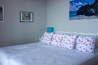 clean bedroom linens in Saint Barth Villa Ouanalao luxury holiday home, vacation rental