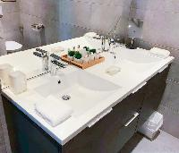 clean lavatory in Saint Barth Villa Ouanalao luxury holiday home, vacation rental