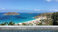 awesome sea view from Saint Barth Villa Ouanalao luxury holiday home, vacation rental