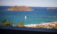 amazing sea view from Saint Barth Villa Ouanalao luxury holiday home, vacation rental