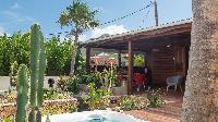 cool garden of Saint Barth Villa Petit Bali luxury holiday home, vacation rental