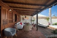 cool balcony of Saint Barth Villa Petit Bali luxury holiday home, vacation rental