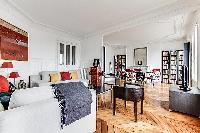 bright and charming 3-bedroom Paris luxury apartment