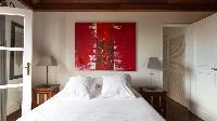 fresh bed sheets in Saint Barth Villa Pasha luxury holiday home, vacation rental