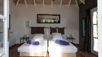 clean bedroom linens in Saint Barth Villa Pasha luxury holiday home, vacation rental