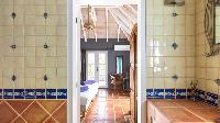 cool bathroom in Saint Barth Villa Pasha luxury holiday home, vacation rental