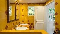 clean bathroom in Saint Barth Villa Pasha luxury holiday home, vacation rental