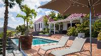 cool swimming pool of Saint Barth Villa Pasha luxury holiday home, vacation rental