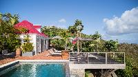 awesome pool of Saint Barth Villa Pasha luxury holiday home, vacation rental