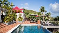 amazing pool of Saint Barth Villa Pasha luxury holiday home, vacation rental