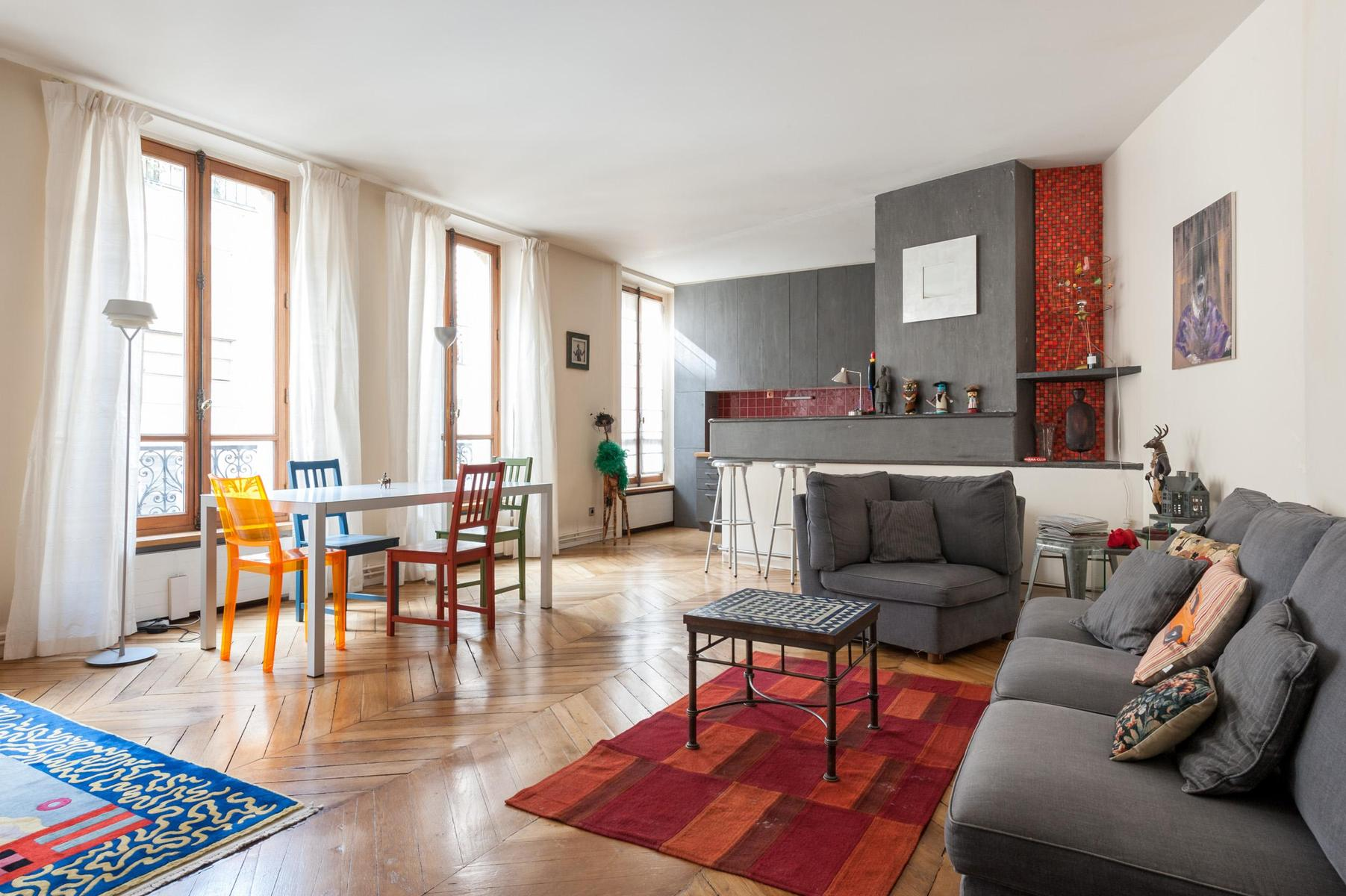 beautiful Paris - Rue Turbigo luxury apartment and holiday home