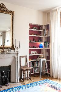 quiet corner in Paris - Rue Turbigo luxury apartment