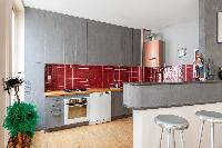 fully furnished Paris - Rue Turbigo luxury apartment