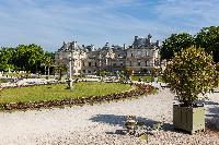 Luxembourg Gardens close to Paris luxury apartment