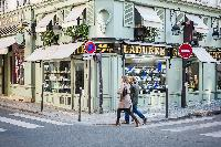 Ladurée nearby French luxury bakery and sweets maker close to Paris luxury apartment