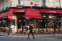 Le Kleber nearby cafe from Paris luxury apartment