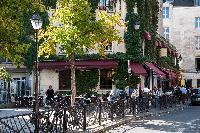 Canal Saint-Martin - République full of cafes and restaurants nearby Paris luxury apartment