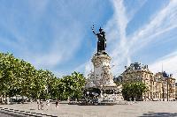 Place de la République close to Paris luxury apartment