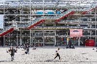 The Centre Pompidou close to Paris luxury apartment