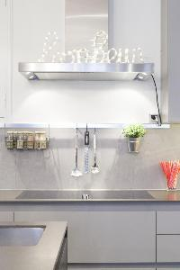 cool kitchen of Paris - Rue Scheffer luxury apartment