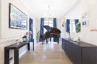awesome grand piano in Paris - Rue Scheffer luxury apartment