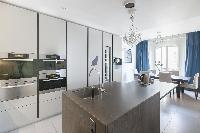 spacious Paris - Rue Scheffer luxury apartment