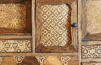antique cabinet in Paris luxury apartment