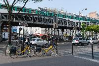 nearby metro from a Paris luxury apartment