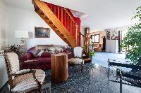 a classic 2-bedroom Paris luxury apartment