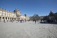 Louvre Museum near Paris luxury apartment