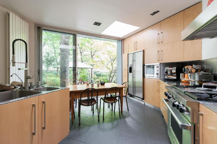 delightful kitchen of Paris - Rue Eugène Flachat luxury apartment