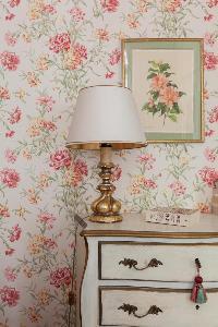 dainty bedside furnishings in Paris - Rue Scheffer II luxury apartment