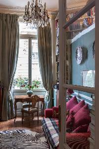 generous windows of Paris - Rue Scheffer II luxury apartment