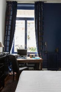 tall windows of Paris - Rue Scheffer II luxury apartment