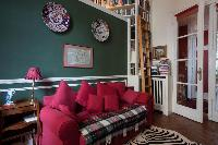 awesome living room of Paris - Rue Scheffer II luxury apartment