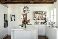 awesome kitchen of Paris - Rue Jean-Pierre Timbaud luxury apartment