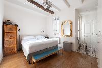lovely bedroom of Paris - Rue Jean-Pierre Timbaud luxury apartment