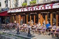 Le Bonaparte - one of the finest cafes of Saint-Germain des Prés attraction close to Paris luxury ap