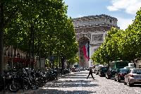a 4-bedroom 3-bathroom apartment near the Champs Elysees and Arc de Triomphe