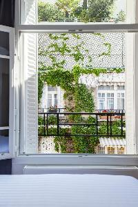 delightful view from Paris - Rue Michel-Ange II luxury apartment