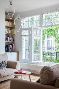 beautiful living room of Paris - Rue Michel-Ange II luxury apartment