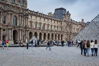 Louvre museum nearby Paris luxury apartment