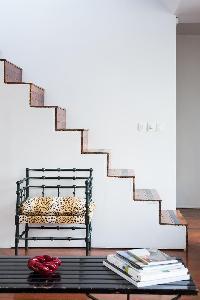 nice furnishings in Paris - Rue Montorgueil luxury apartment