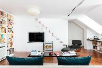 awesome multilevel Paris - Rue Montorgueil luxury apartment