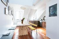 fully furnished Paris - Rue Montorgueil luxury apartment