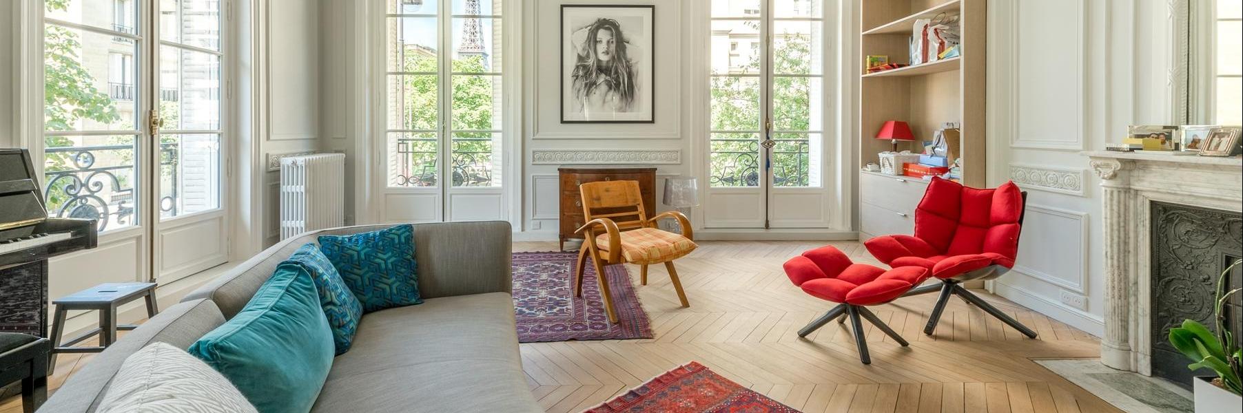 Paris - Avenue Frédéric le Play