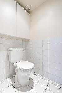 fresh and clean toilet and bath in Paris - Rue de Thorigny Loft luxury apartment